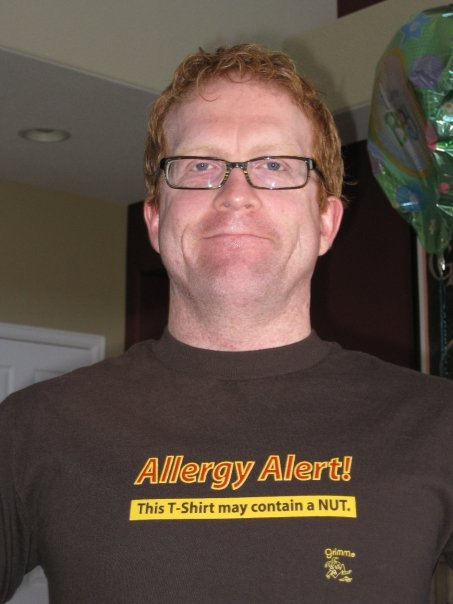 allergy alert this shirt may contain a nut